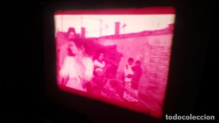 Cine: LOS TARANTOS-ANTONIO GADES, PELÍCULA-SUPER 8 MM-4 x 180 MTS. RETRO-VINTAGE FILM - Foto 69 - 148960698