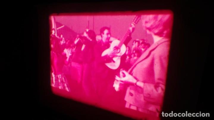Cine: LOS TARANTOS-ANTONIO GADES, PELÍCULA-SUPER 8 MM-4 x 180 MTS. RETRO-VINTAGE FILM - Foto 72 - 148960698