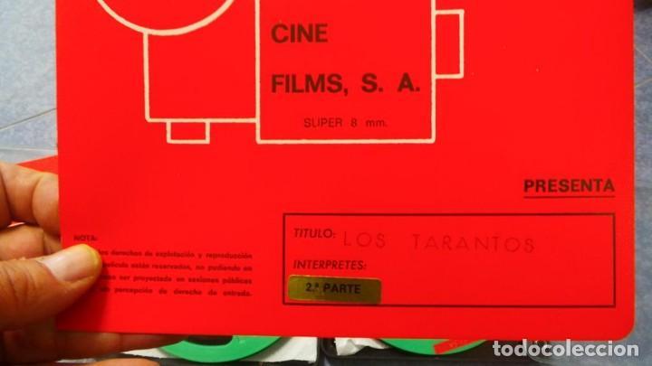 Cine: LOS TARANTOS-ANTONIO GADES, PELÍCULA-SUPER 8 MM-4 x 180 MTS. RETRO-VINTAGE FILM - Foto 81 - 148960698