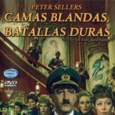 Cine: SUPER 8 ++ CAMAS BLANDAS, BATALLAS DURAS ++ LARGOMETRAJE CON PETER SELLERS. Lote 148988522