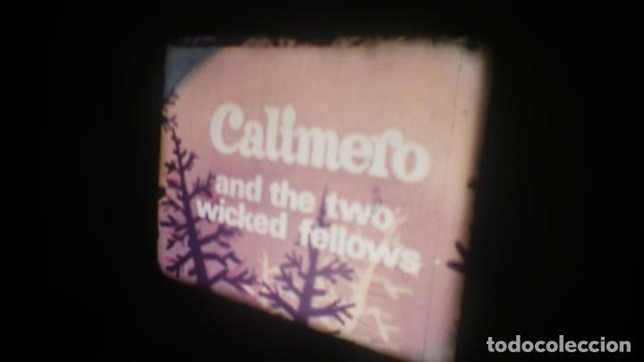 Cine: TRES CORTOS DIBUJOS ANIMADOS, CALIMERO, MERRIE MELODIES SUPER 8 MM VINTAGE FILM - Foto 36 - 149692574
