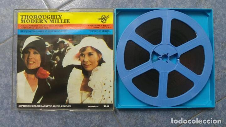 Cine: MILLIE UNA CHICA MODERNA-REDUCCIÓN PELÍCULA - SUPER 8 MM- VINTAGE FILM - Foto 80 - 149693310
