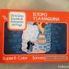 Cine: PELÍCULA SUPER 8 - EL TOPO Y LA MAQUINA. Lote 149735970