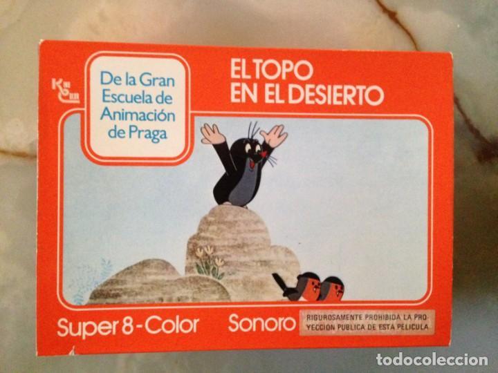 PELÍCULA SUPER 8 - EL TOPO EN EL DESIERTO (Cine - Películas - Super 8 mm)