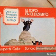 Cine: PELÍCULA SUPER 8 - EL TOPO EN EL DESIERTO. Lote 149865982