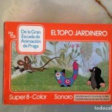Cine: PELÍCULA SUPER 8 - EL TOPO JARDINERO. Lote 149866146