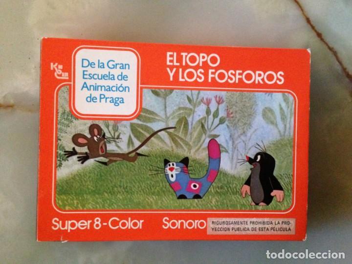 PELÍCULA SUPER 8 - EL TOPO Y LOS FÓSFOROS (Cine - Películas - Super 8 mm)