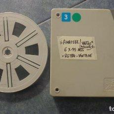 Cine: ANTIGUA BOBINA DE PELÍCULA-FILMACIONES AMATEUR-MALLORCA-AÑOS 70 SUPER 8 MM, RETRO VINTAGE FILM . Lote 150248266