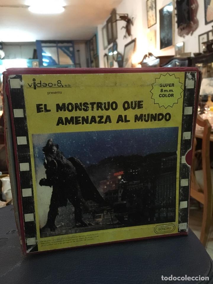 PELÍCULA SUPER 8 EL MONSTRUO QUE AMENAZA AL MUNDO (ÚNICA EN TODOCOLECCIÓN) (Cine - Películas - Super 8 mm)