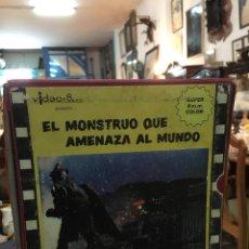 Cine: PELÍCULA SUPER 8 EL MONSTRUO QUE AMENAZA AL MUNDO (ÚNICA EN TODOCOLECCIÓN). Lote 150823570