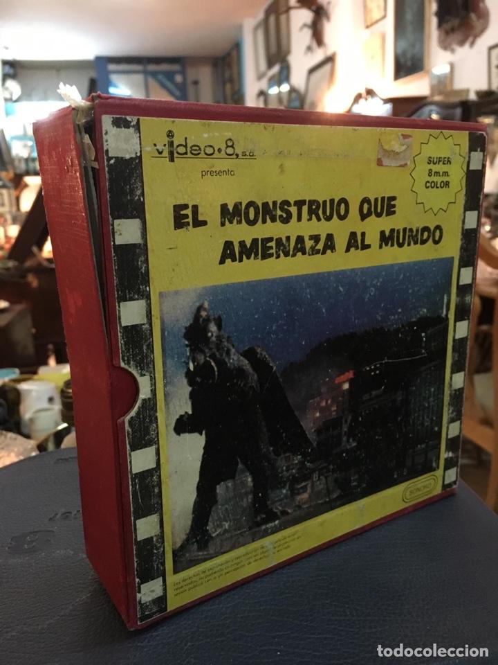 Cine: Película super 8 el monstruo que amenaza al mundo (única en todocolección) - Foto 2 - 150823570