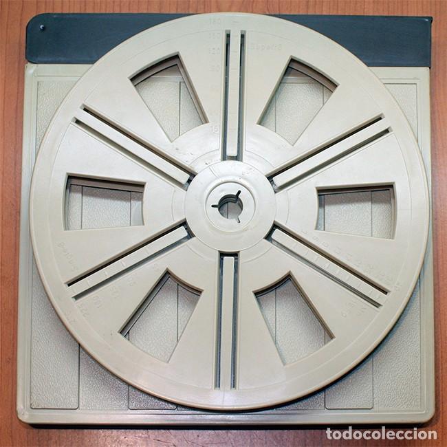 BOBINA Y CAJA VINTAGE PARA PELÍCULA Y PROYECTOR SUPER 8 MM - 180 METROS (Cine - Películas - Super 8 mm)