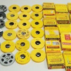 Cine: 219- GRAN LOTE 45 PELICULAS CASERAS SUPER 8 VIAJES,PLAYAS,EXCURSIONES.....GALICIA,LEON,PORTUGAL...... Lote 152443306