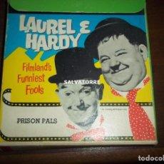 Cine: LAUREL Y HARDY.PRISON PALSSUPER 8 MM. INGLESA.. Lote 152760698