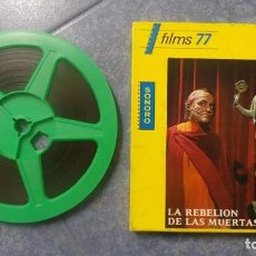 Cine: LA REBELIÓN DE LAS MUERTAS, REDUCCIÓN -1 X 120 MTS-PELÍCULA SUPER 8 MM-RETRO VINTAGE FILM. Lote 152870098