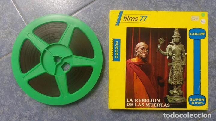 Cine: LA REBELIÓN DE LAS MUERTAS, REDUCCIÓN -1 x 120 MTS-PELÍCULA SUPER 8 MM-RETRO VINTAGE FILM - Foto 3 - 152870098