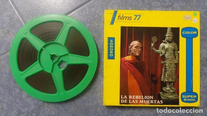 Cine: LA REBELIÓN DE LAS MUERTAS, REDUCCIÓN -1 x 120 MTS-PELÍCULA SUPER 8 MM-RETRO VINTAGE FILM - Foto 4 - 152870098