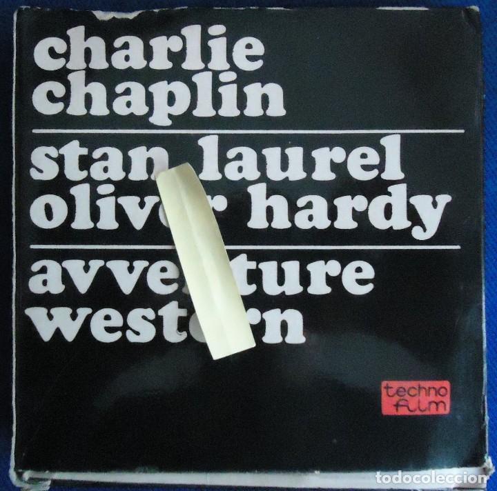 Cine: cine pelicula retro vintage super 8 mm dibujos animados charlie chaplin charlot cine mudo humor tve - Foto 2 - 153478162