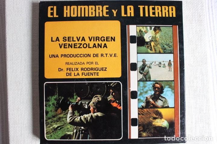 EL HOMBRE Y LA TIERRA. LA SELVA VIRGEN VENEZOLANA. FELIX RODRIGUEZ DE LA FUENTE (Cine - Películas - Super 8 mm)