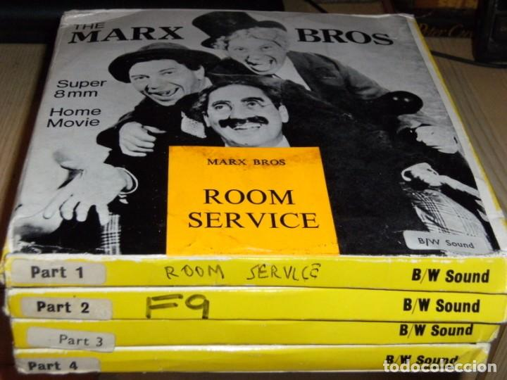 EL HOTEL DE LOS LÍOS (ROOM SERVICE) - MARX BROTHERS. - 4 X 120 - ENGLISH SOUND (Cine - Películas - Super 8 mm)