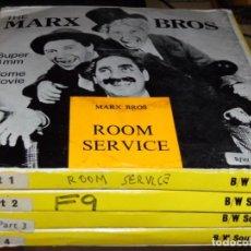 Cine: EL HOTEL DE LOS LÍOS (ROOM SERVICE) - MARX BROTHERS. - 4 X 120 - ENGLISH SOUND. Lote 154217806