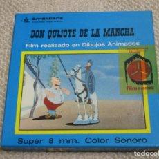 Cine: DON QUIJOTE DE LA MANCHA FILM REALIZADO EN DIBUJOS ANIMADOS ARMENDÁRIZ PRODUCCIONES CINEMATOGRÁFICAS. Lote 154900946