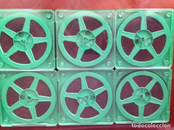 PELÍCULA SÚPER 8 EN COLOR MAZINGER ZETA 6 CAPÍTULOS - ALEX FILMS - SIN CARATULAS (Cine - Películas - Super 8 mm)