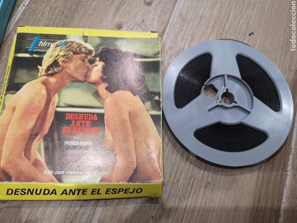 DESNUDA ANTE EL ESPEJO, FILMS 77 MAYORES 18, CON PATRICIA ADRIAN, BARBARA REY?. BOVINA 120M, UNICO (Cine - Películas - Super 8 mm)