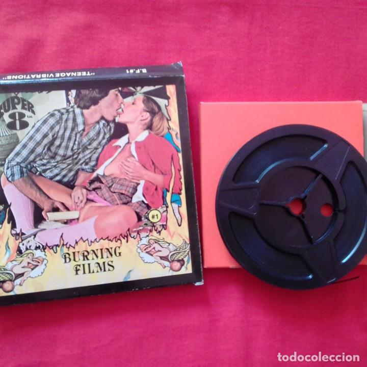 Cine: EXOTICA I WILL COME SOON, BURNING FILMS, THE SINFUL BED. 60 M SUPER 8 MM - Foto 4 - 159733382