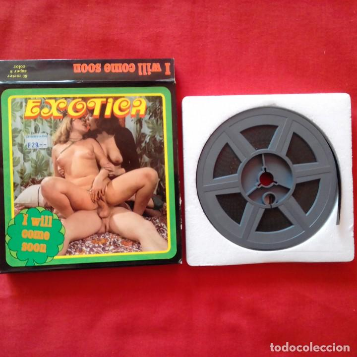 Cine: EXOTICA I WILL COME SOON, BURNING FILMS, THE SINFUL BED. 60 M SUPER 8 MM - Foto 5 - 159733382