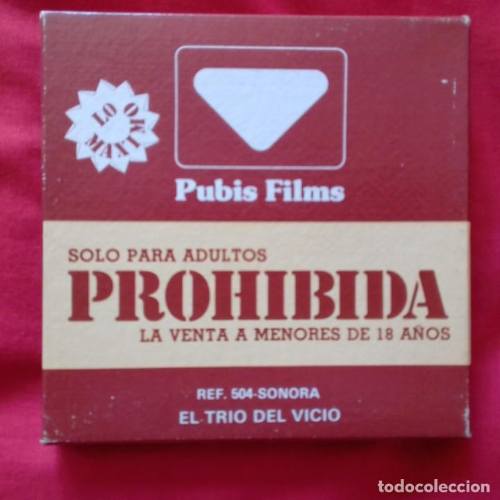 Cine: 10 SUPER 8 MM COLOR DE LUXE SONORIZADAS. EXCITING, ONIRICON PUBLIS FILM SEXORAMA - Foto 3 - 159735422