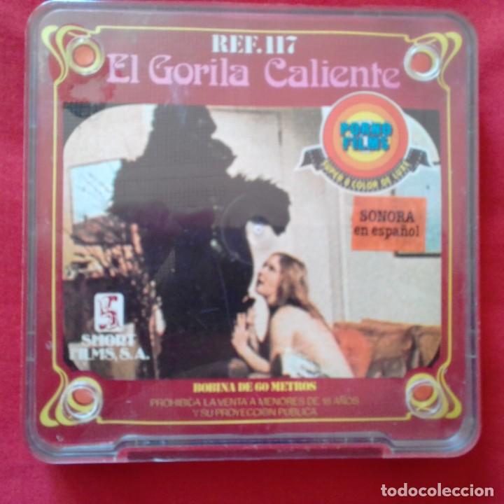 SUPER 8 MM COLOR DE LUXE. EL GORILA CALIENTE. VPORNO FILMS. SHORT FILMS. SONORA EN ESPAÑOL (Cine - Películas - Super 8 mm)