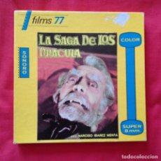 Cine: FILMS 77 PRESENTA LA SAGA DE LOS DRACULA CON NARCISO IBÁÑEZ MENTA (3ª PARTE) SONORO/COLOR. Lote 159740614