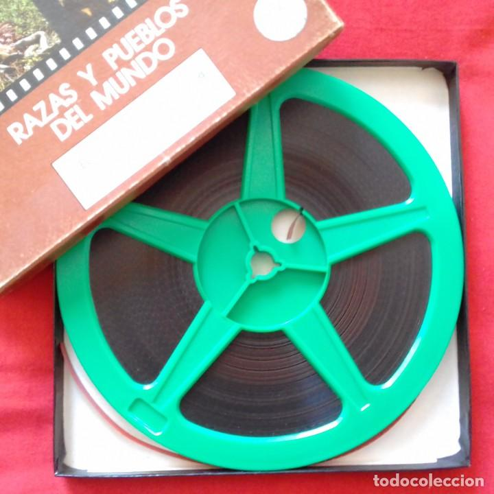 Cine: PELICULA COLOR SUPER 8. EL HOMBRE DEL KALAHARI. LOS BOSQUIMANOS. CENTAURO FILMS. - Foto 2 - 159742774
