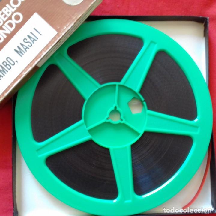 Cine: SUPER 8 MM. CENTAURO FILMS GRAN FAUNA DEL MUNDO RAZAS Y PUEBLOS DEL MUNDO YAMBO MASAI AFRICA . - Foto 2 - 159742934