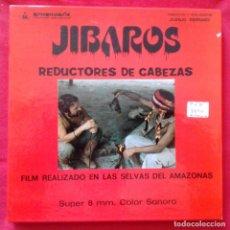 Cine: JÍBAROS, REDUCTORES DE CABEZAS. SUPER 8 COLOR SONORO ESPAÑOL PRODUCCIONES ARMENDARIZ. Lote 159745186