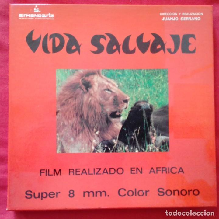 VIDA SALVAJE. SUPER 8 COLOR SONORO ESPAÑOL PRODUCCIONES ARMENDARIZ (Cine - Películas - Super 8 mm)