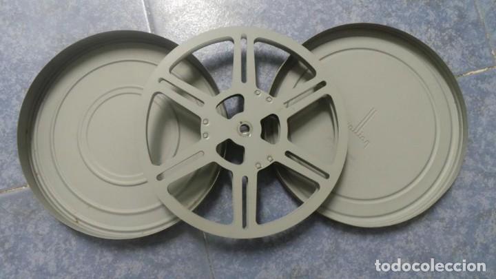BOBINA ANTIGUA RETRO VINTAGE BOLEX PAILLARD, (METAL) PARA PELÍCULA 9,5 MM, Nº: 141 (Cine - Películas - Super 8 mm)