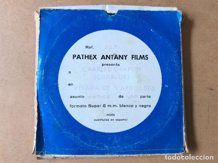 CINE - PELÍCULA SUPER 8 MM - CHARLOT - VELADA DE VARIEDADES (Cine - Películas - Super 8 mm)