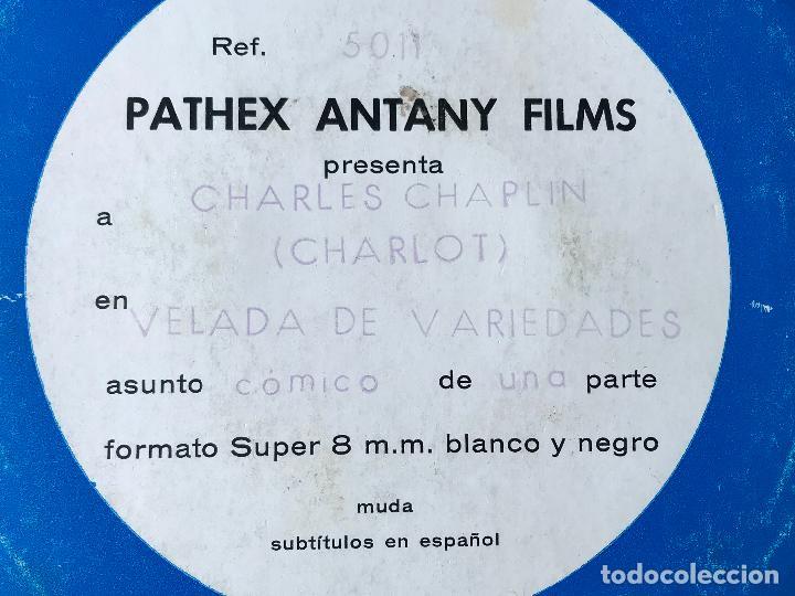 Cine: CINE - PELÍCULA SUPER 8 MM - CHARLOT - VELADA DE VARIEDADES - Foto 2 - 161910186