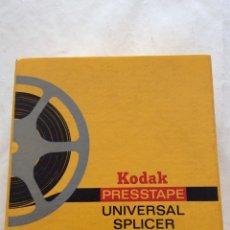 Cine: EMPALMADORA KODAK. PELÍCULAS DE SUPER 8, 8 MM Y 16 MM. Lote 165811828