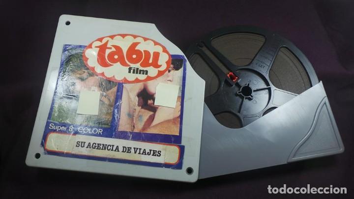 SU AGENCIA DE VIAJES CORTOMETRAJE - ADULTOS-SUPER 8 MM-RETRO VINTAGE FILM (Cine - Películas - Super 8 mm)