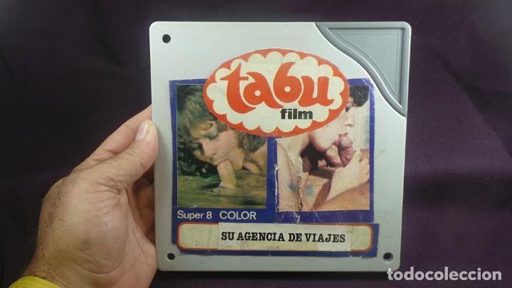 Cine: SU AGENCIA DE VIAJES CORTOMETRAJE - ADULTOS-SUPER 8 MM-RETRO VINTAGE FILM - Foto 2 - 165909878