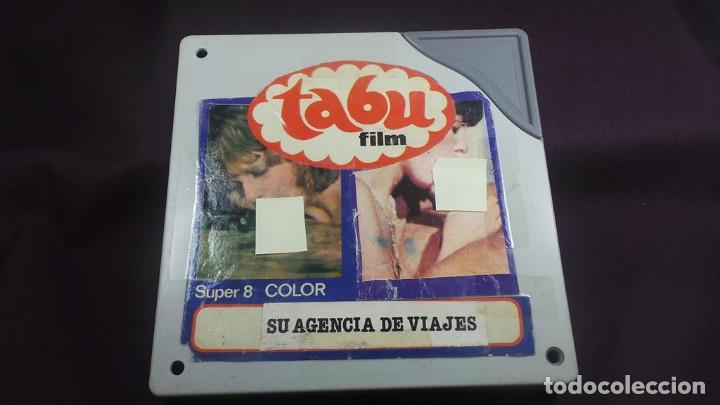 Cine: SU AGENCIA DE VIAJES CORTOMETRAJE - ADULTOS-SUPER 8 MM-RETRO VINTAGE FILM - Foto 3 - 165909878