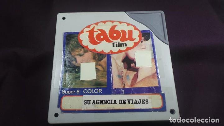 Cine: SU AGENCIA DE VIAJES CORTOMETRAJE - ADULTOS-SUPER 8 MM-RETRO VINTAGE FILM - Foto 4 - 165909878