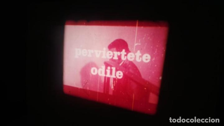 Cine: PERVIERTE ODILE CORTOMETRAJE -PARA ADULTOS- SUPER 8 MM-RETRO VINTAGE FILM - Foto 32 - 165910170