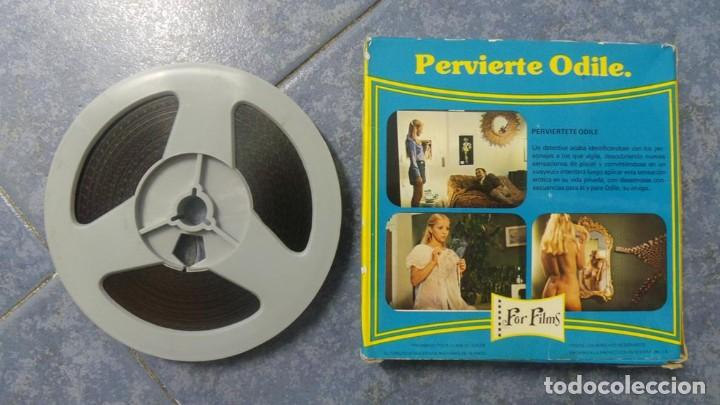 Cine: PERVIERTE ODILE CORTOMETRAJE -PARA ADULTOS- SUPER 8 MM-RETRO VINTAGE FILM - Foto 36 - 165910170
