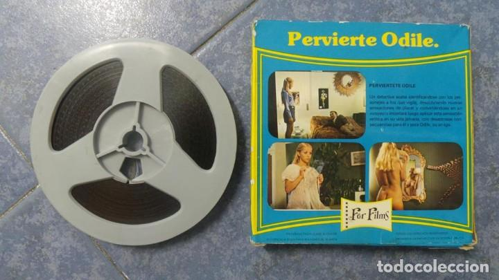 Cine: PERVIERTE ODILE CORTOMETRAJE -PARA ADULTOS- SUPER 8 MM-RETRO VINTAGE FILM - Foto 37 - 165910170