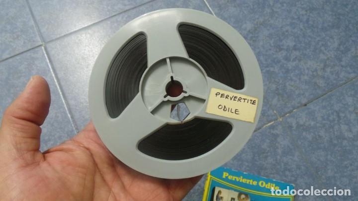 Cine: PERVIERTE ODILE CORTOMETRAJE -PARA ADULTOS- SUPER 8 MM-RETRO VINTAGE FILM - Foto 38 - 165910170