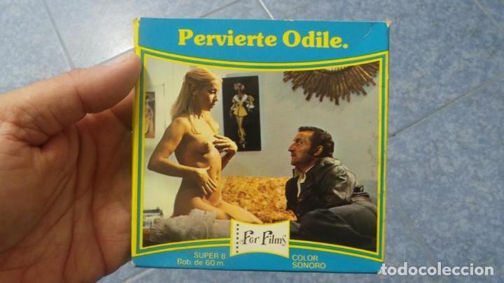 Cine: PERVIERTE ODILE CORTOMETRAJE -PARA ADULTOS- SUPER 8 MM-RETRO VINTAGE FILM - Foto 41 - 165910170